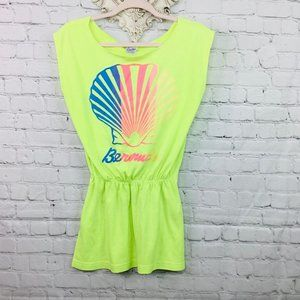 VINTAGE: Neon Beach Cover Up